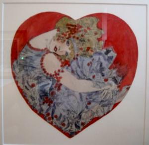 Valentine card by Marie Gerard